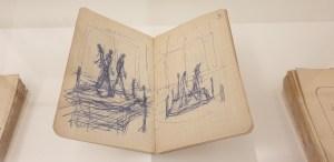 Exposition Giacometti l'homme qui marche - fondation Giacometti