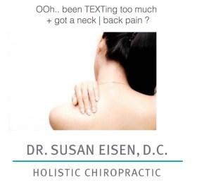 dr susan eisen chiropractor ad LG