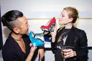 1Raphael Young Bottier in Paris celebrating store opening on COOLER shoes for fall fashiondailymag.com by brigitte segura