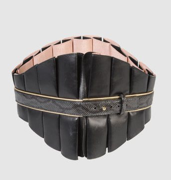 "TEMPERLEY LONDON 7"" LEATHER BELT to the BELT KINGDOM on FASHIONDAILYMAG"