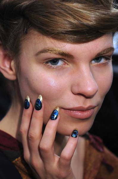 CND NAILS at jen kao F2011 SELECTION PHOTO 5 COURTESY of CND on fashiondailymag