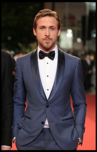 actor ryan gosling wearing MontBlanc at CANNES film festival 2011 photo MontBlanc on FashionDailyMag