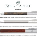 FABER-CASTELL-design-line-fine-PENS-+-pencils-to-gift-the-GUYS-on-FashionDailyMag