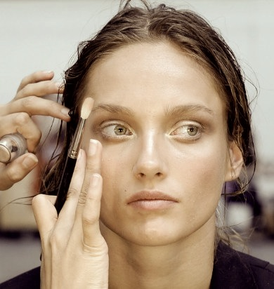 BACKSTAGE bw beauty at DIESEL BLACK GOLD ss12 on FashionDailyMag copy