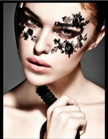 BEAUTY and lace photo ana coelo makeup junior quieros model sara smith FashiondailyMag beauty