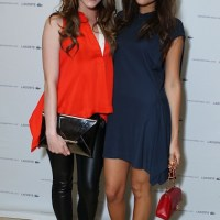 CATCHING UP: celebs at LACOSTE launch of spring