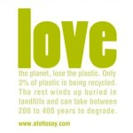 LOVE the planet alot to say FashionDailyMag earth day friendly fashion