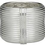 SLANE RECYCLED silver cuff FashionDailyMag eco friendly fashion