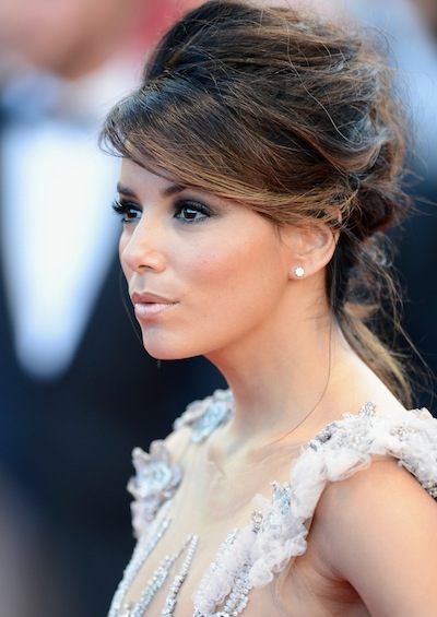 Actress Eva Longoria arrives opening night 65th Annual Cannes Film Festival on FashionDailyMag