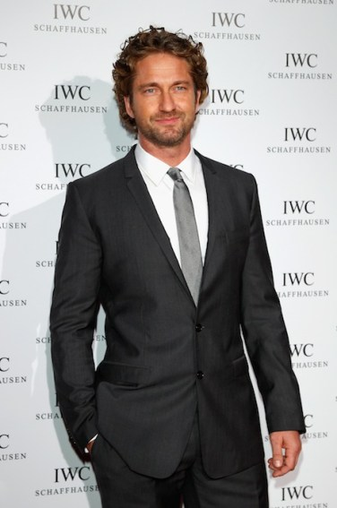 Actor Gerard Butler at IWC Filmmakers Dinner At Eden Roc - Red Carpet Arrivals - 65th Annual Cannes Film Festival