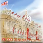 An artists impression - Harrods 2012