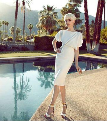 fdmLOVES great gatsby StyleBop dress by ROKSANDA ILINCIC shoes SERGIO ROSSI