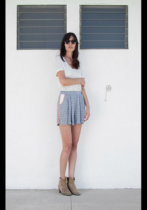 love zooey summer 2012 skirt shorts on FashionDailyMag