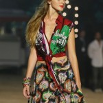 Desigual rtw spring_summer 2013 Barcelona fashiondailymag selects Look 17