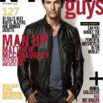 Matthew McConaughey NYLON GUYS september issue COVER pic on FashionDailyMag