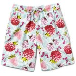 VOLEBREQUIN fruit print mens swim shorts