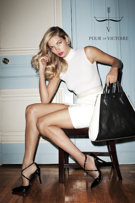POUR LA VICTOIRE by terry richardson ad campaign spring 2013 on FashionDailyMag