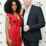 TW Steel Hosts Kelly Rowland Launch Party Kelly Rowland and Jordy Cobelens FashionDailyMag Selects