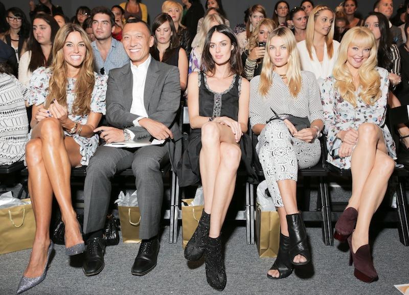 Whitney Eve Spring 2013 Fashion Show Kelly Bensimon, Joe Zee, Nicole Trunfio, Jessica Hart, Charlotte Ross