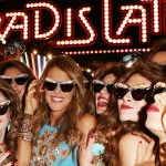 ANNA DELLO RUSSO in ADR with friends at HM pfw FashionDailyMag