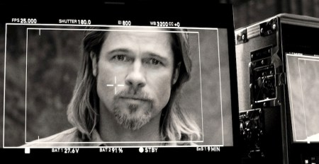BEHIND THE SCENES brad pitt for CHANEL N5 on FashionDailyMag copy