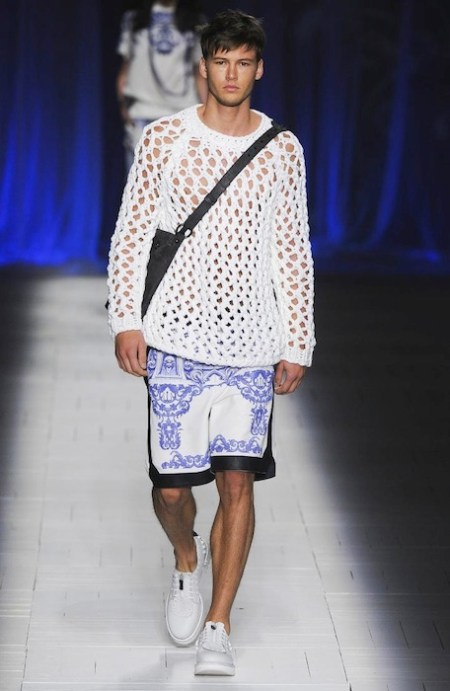 JUST CAVALLI spring 2013 MFW fashiondailymag sel men 1