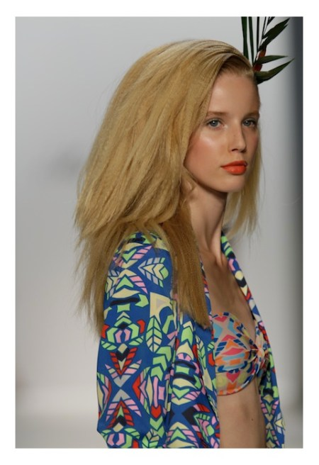 Mara Hoffman Spring Summer 2013 Aloha The Beauty Look fashiondailymag 1