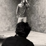 behind the scenes BRAD PITT chanel No 5 on FashionDailyMag