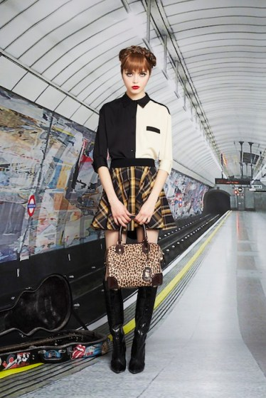 Alice + Olivia Prefall 2013 fashiondailymag selects Look 12