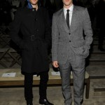 harry treadawy luke treadaway winter 2013 menswear show in milan