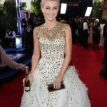 julianne hough - toast with a cause | golden globes