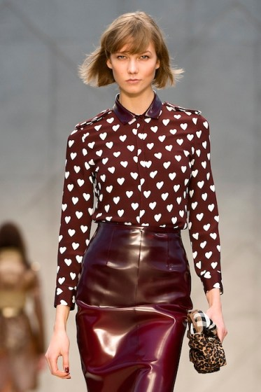 karlie kloss Burberry Prorsum Womenswear Spring Summer 2013 Collection