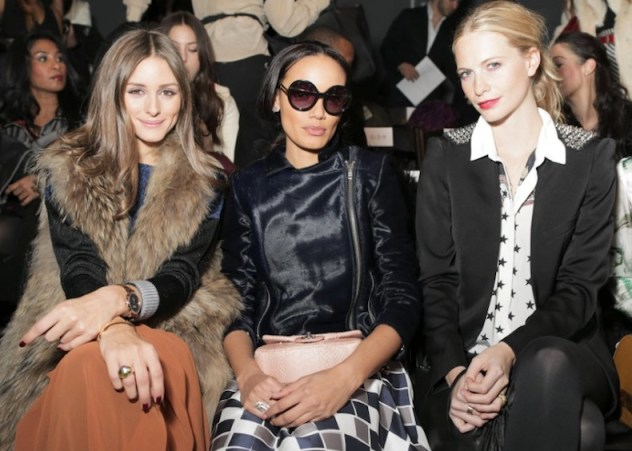 olivia palermo poppy delevingne at NOON BY NOOR nyfw | FashionDailyMag