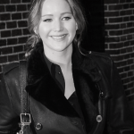 Jennifer Lawrence wearing Burberry on FashionDailyMag spring the trench