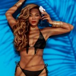 "BEYONCE rocks swim ""Standing on the Sun"""