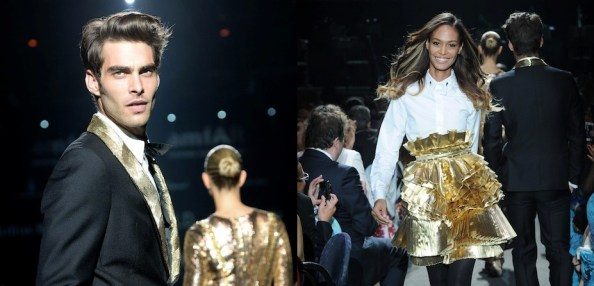 GOLD collection curated by carine roitfeld Jon Kortajerana | Joan Smalls | FashionDailyMag feature cannes