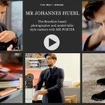 Getting Dressed with Johannes Huebl