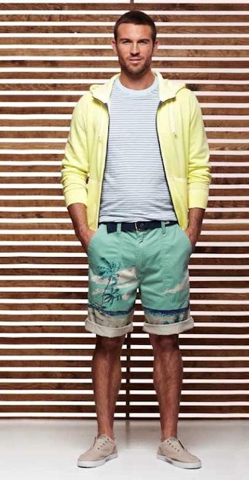NAUTICA MENS SPRING 2013 swim shorts | FashionDailyMag