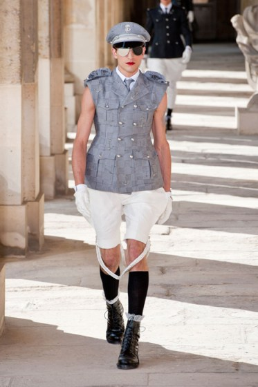 THOM BROWNE menswear spring 2014 fashiondailymag sel 5