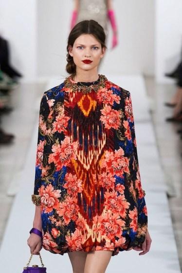 OSCAR DE LA RENTA fall 2013 fashiondailymag sel 26