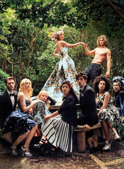 American Vogue - Circus Maximus by Bruce Weber FashionDailyMag