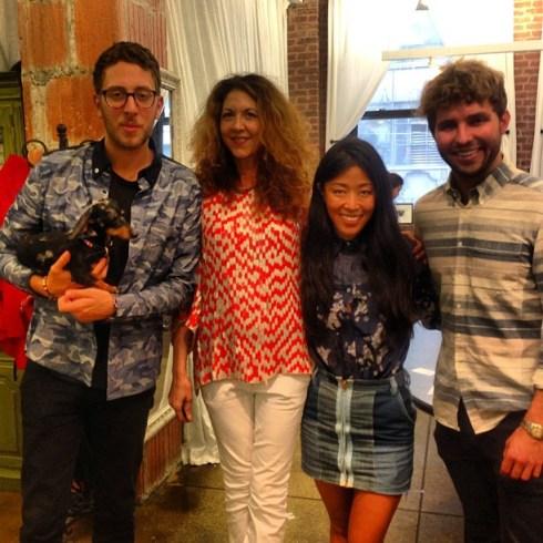 Brigitte Segura and Timo Weiland Team CFDA fashiondailymag sel 1