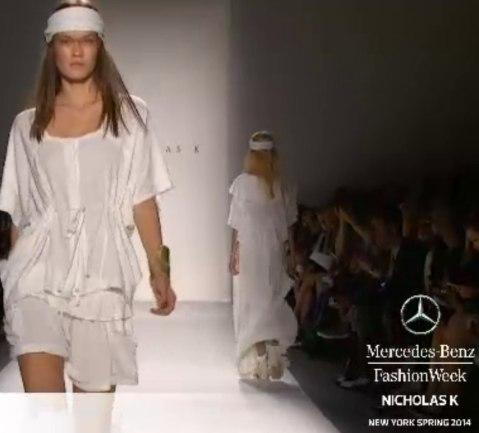 NICHOLAS K spring 2014 FashionDailyMag live stream