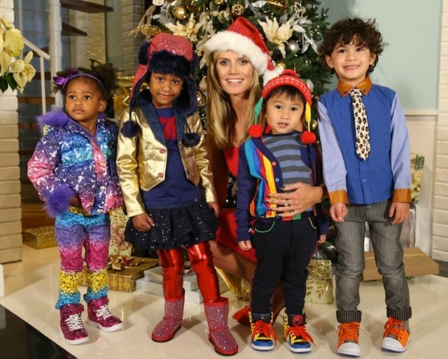 HEIDI KLUM for kids FashionDailyMag