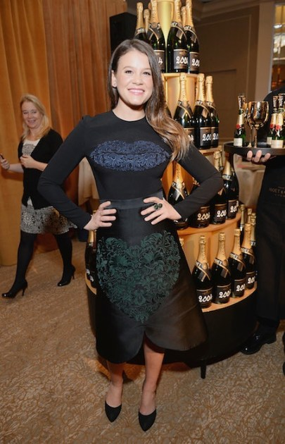 Sosie Bacon 71st Annual Golden Globe Nominations with Moet & Chandon