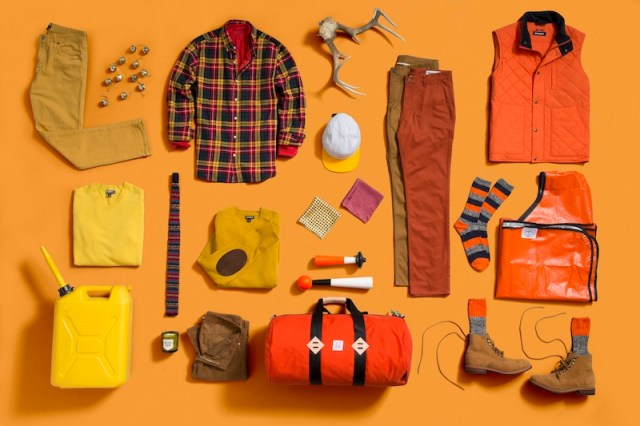 bonobos orange mens gift guide FashionDailyMag