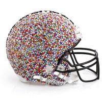 CFDA designer HELMETS: Kicking off the Superbowl