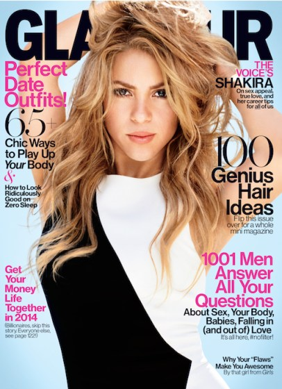 SHAKIRA GLAMOUR FEB ISSUE fashiondailymage sel 1