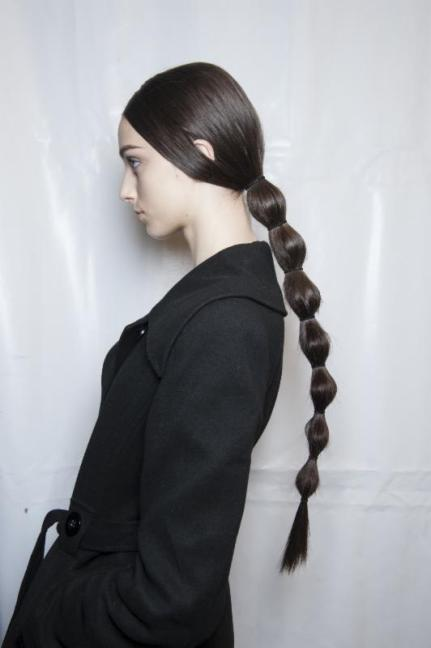 valentino fall 2014 hair guido FashionDailyMag