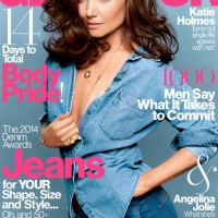 CATCHING up with Katie Holmes